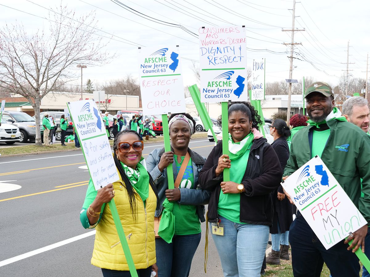 NJ Behavioral Health Workers Make Voices Heard In Seeking Union Recognition