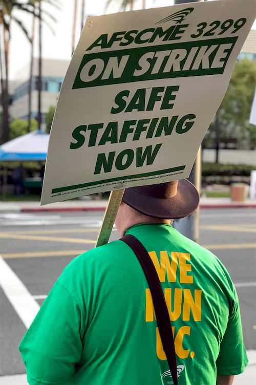 University of California Workers Strike for Fair Pay and Respect on the Job