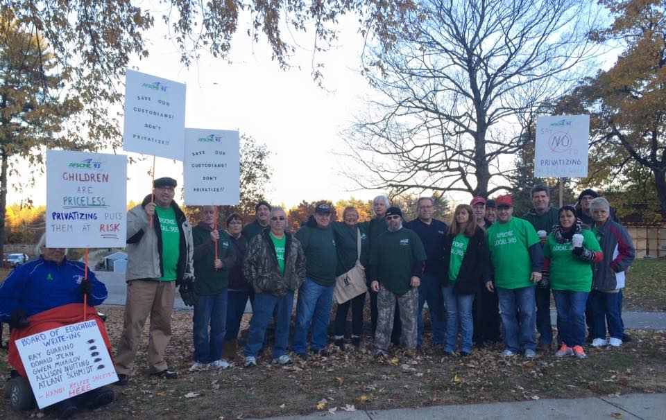 In Nashua, New Hampshire, School Workers Win Fight Against Privatization