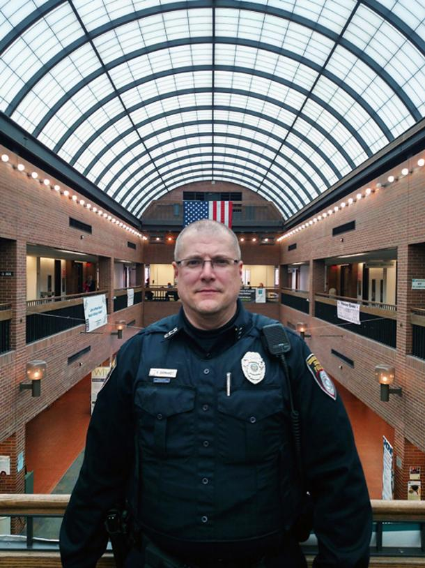 Campus Officer Saves Student's Life
