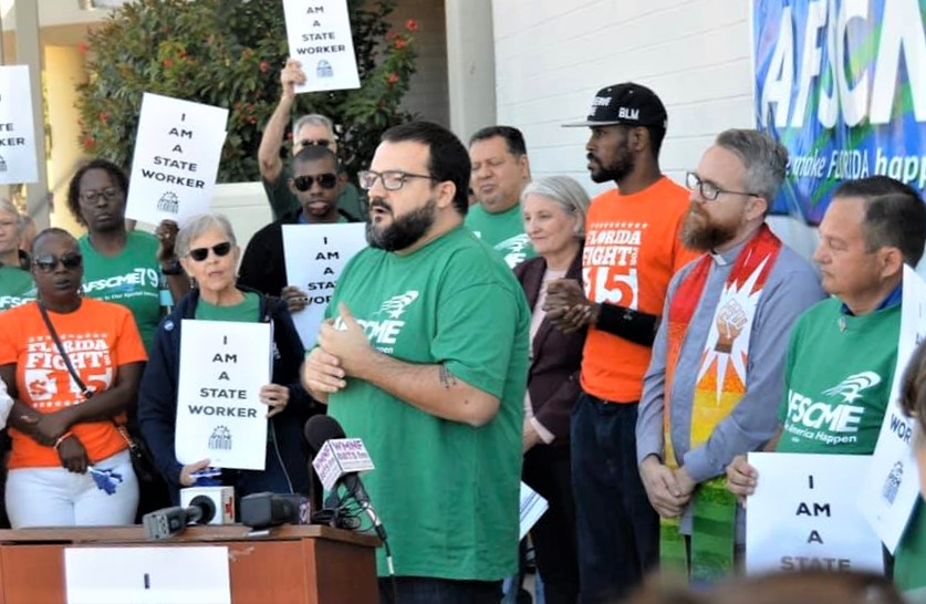 Statewide Rallies Spur Pay Raise Proposals for Florida State Workers