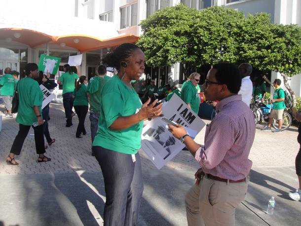 Mass Rally Defends Sanitation Jobs, Services