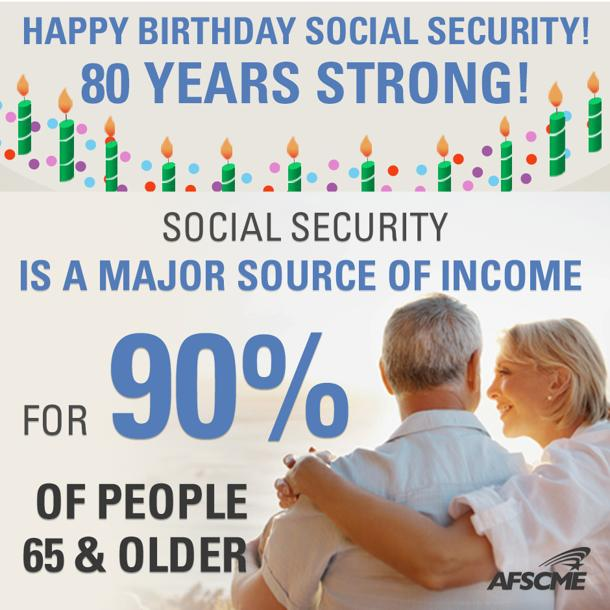 Here's to 80 Years of Social Security -- and at Least 80 More