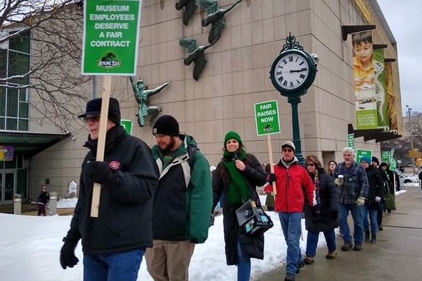 Wisconsin Museum Workers Reject Bad Contract, Demand a Fair Deal