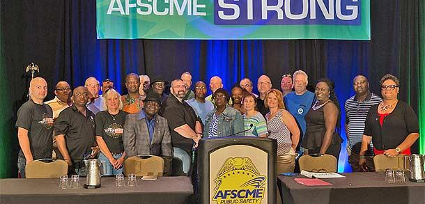 Public Safety Congress Gets AFSCME Strong