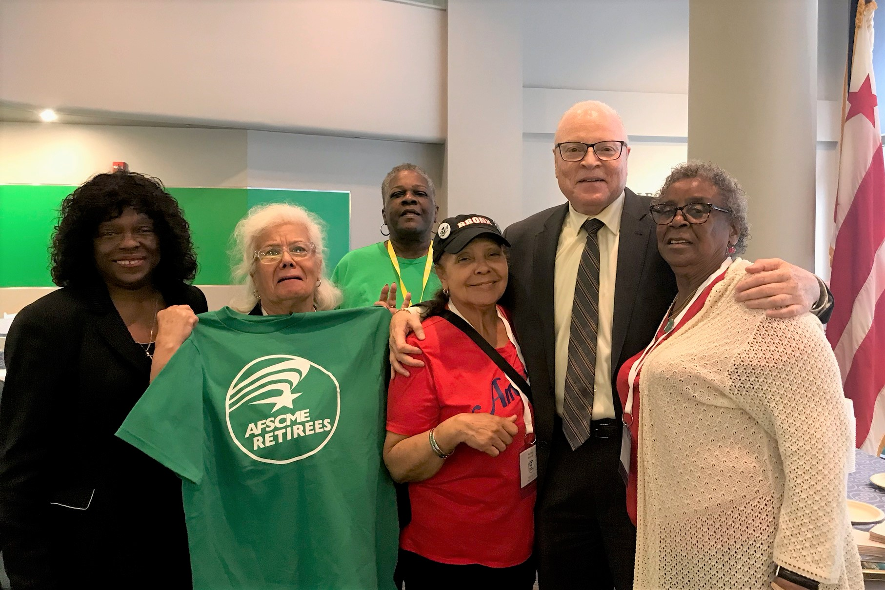 AFSCME Retirees Charge Up to The Hill During Retiree Council Meeting